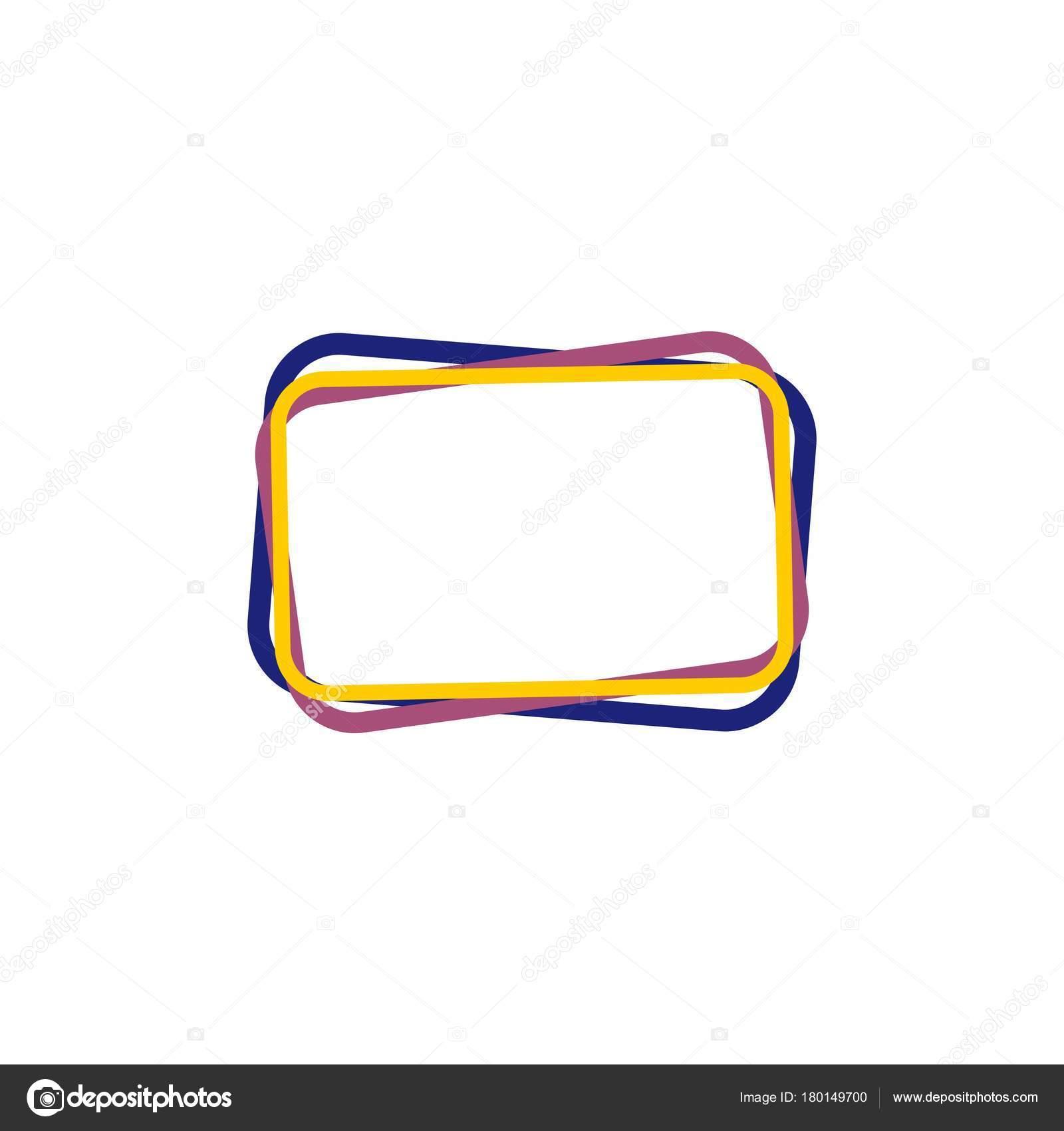 Bandera de la plantilla, marco para texto — Vector de stock © Evopr ...
