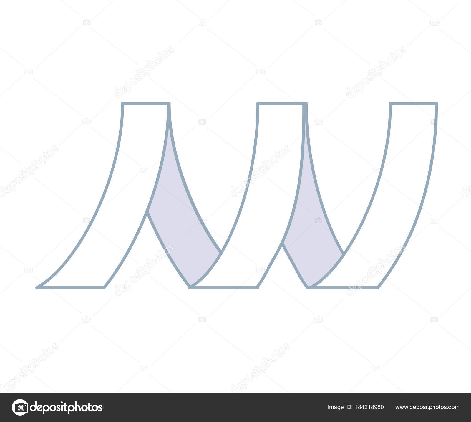 Metall-Band linear Symbol — Stockvektor © Evopr #184218980