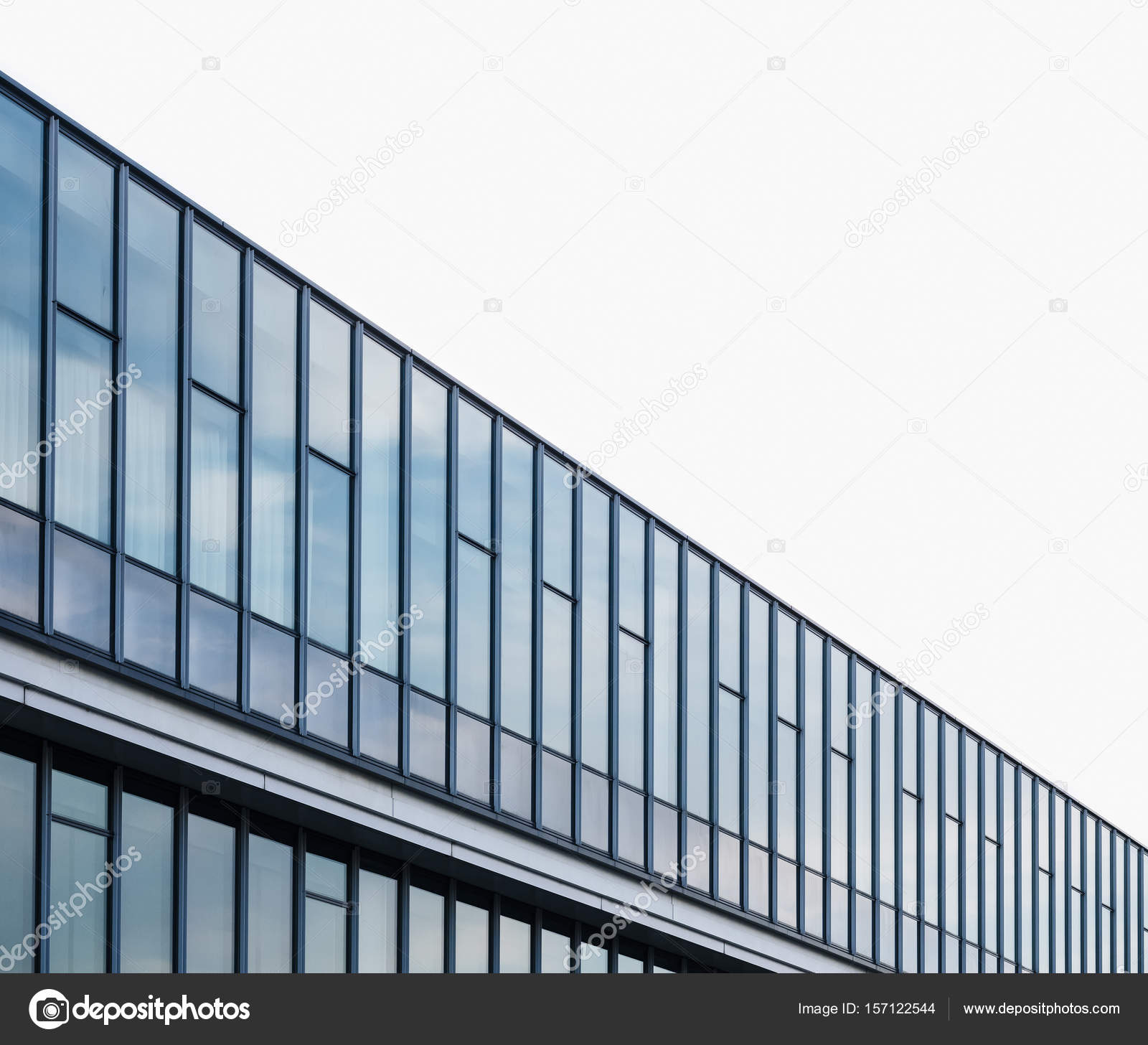 Arquitectura moderna vidrio fachada cerramiento exterior for Exterior edificios