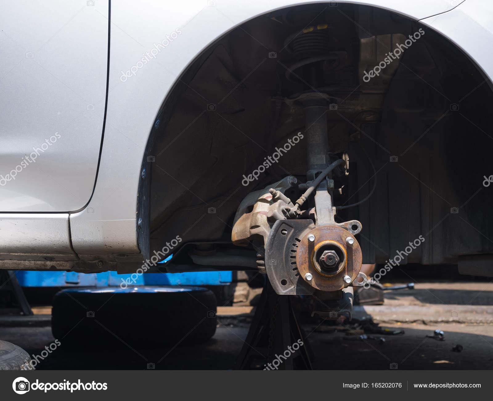 Sistema de Auto servicio mantenimiento romper coche garaje industria ...