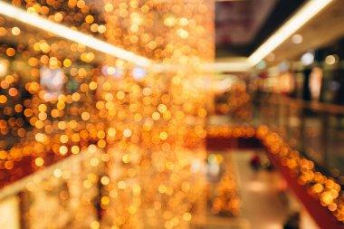 Festive blurred pattern