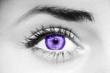 Ultra Violet eye