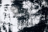 Grunge schwarz-weiße Textur mit Rissen und Pinselstrichen