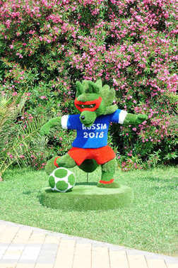 Zabijaka - the symbol of the world Cup in 2018