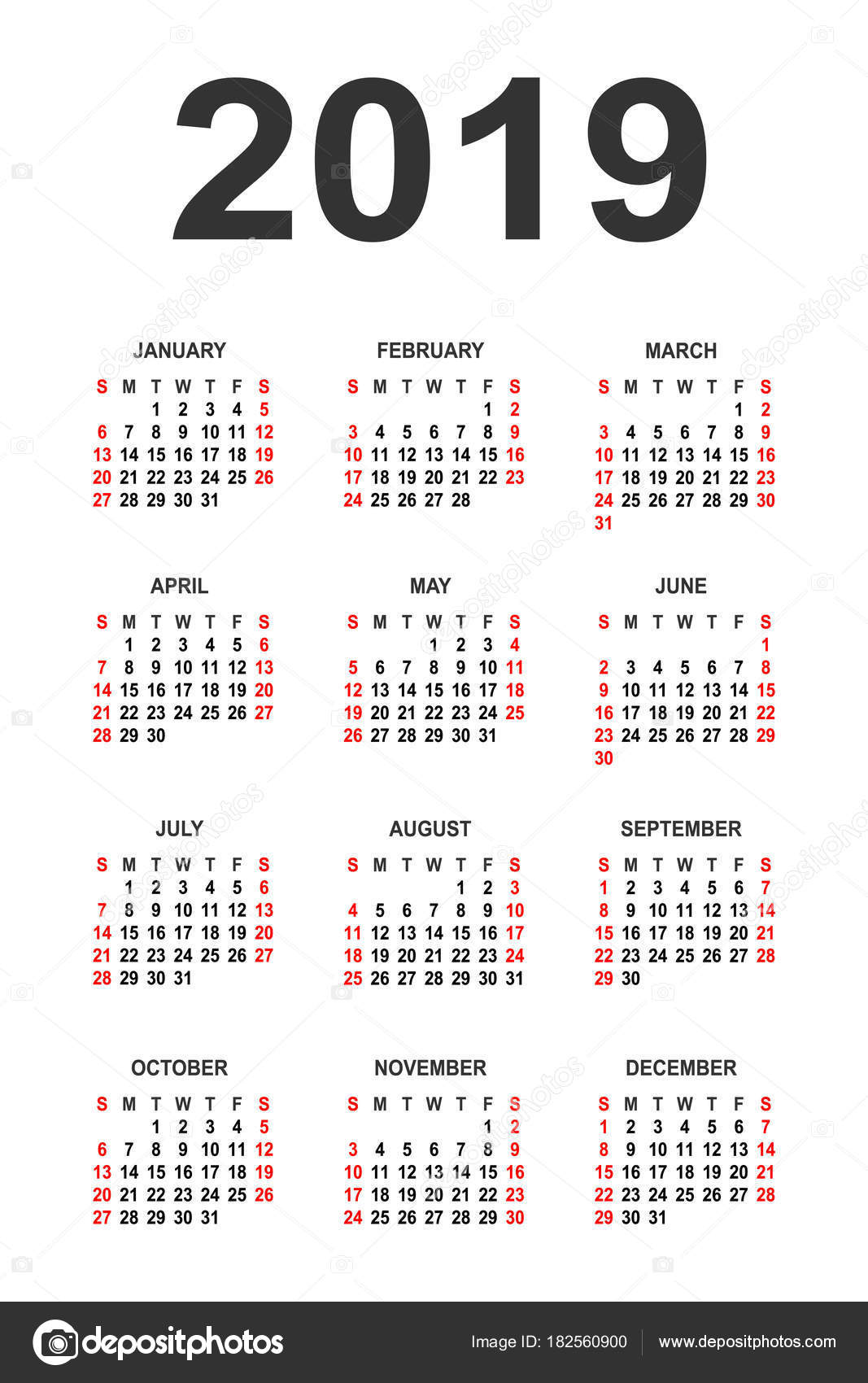 Download Kalender 2019 Arab