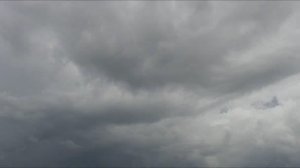 dešťové mraky, timelapse, krásné mraky timelapse