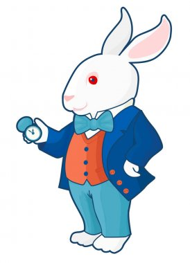 Alice in wonderland rabbit time