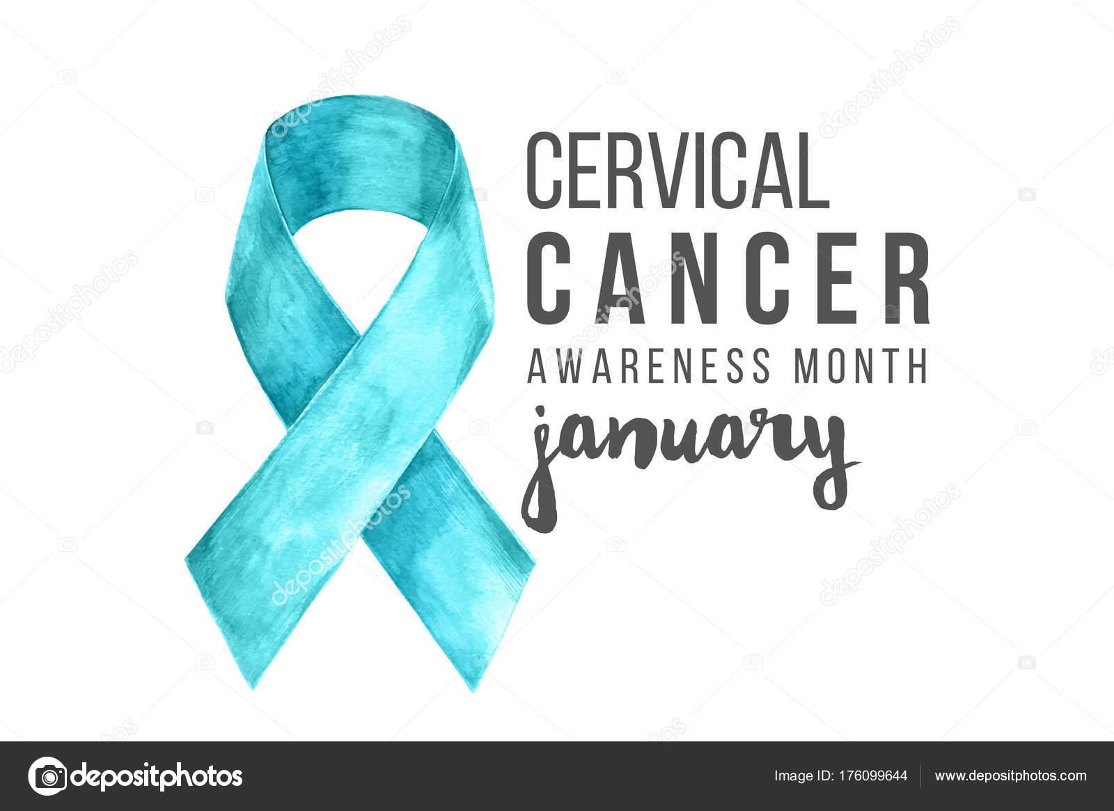 Cervical Cancer Awareness Month Banner Stock Vector C Mart M 176099644