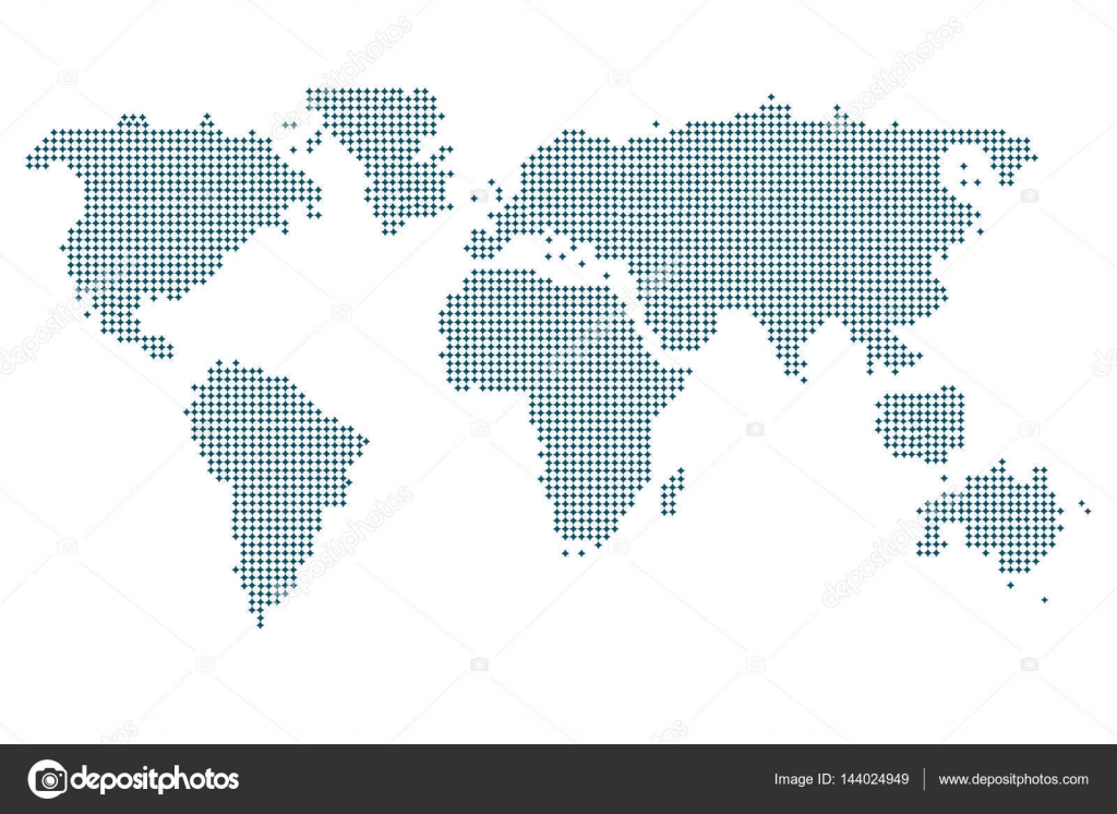 Dotted world map world map blue world map vector world map flat dotted world map world map blue world map vector world map flat world map template world map illustration world map businnes world map infographic gumiabroncs Gallery