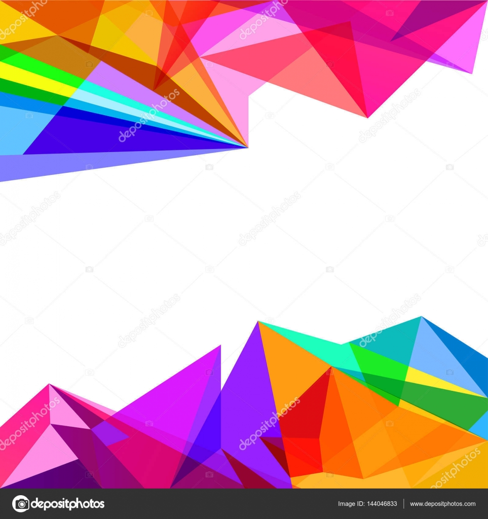 Free Colorful Geometric Wallpaper: Geometric Colorful Abstract Background