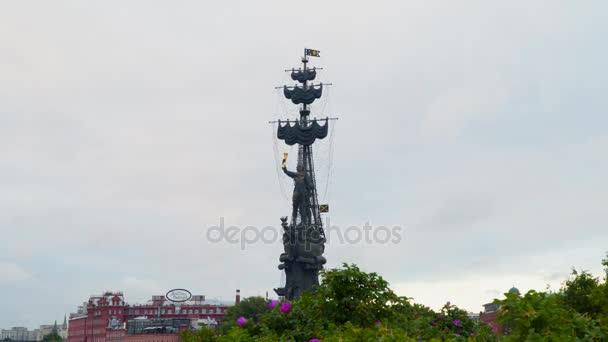 Památník Petra Velikého v Moskvě