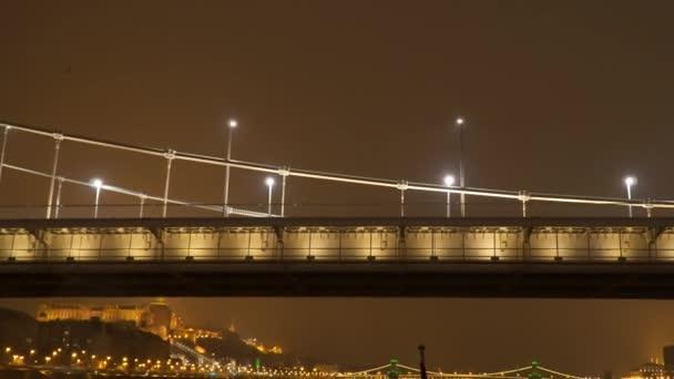 Erzsebet Bridge in Budapest Hungary
