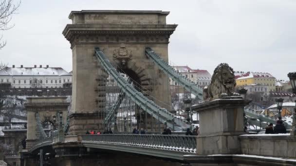 Budapesti Széchenyi hídon