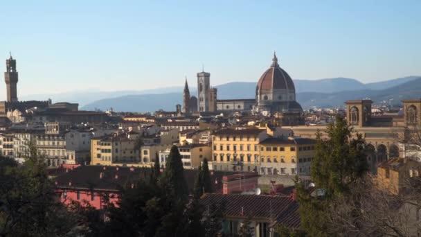 Olaszország Toszkána-Firenze város. A katedrális és a Giotto-torony.