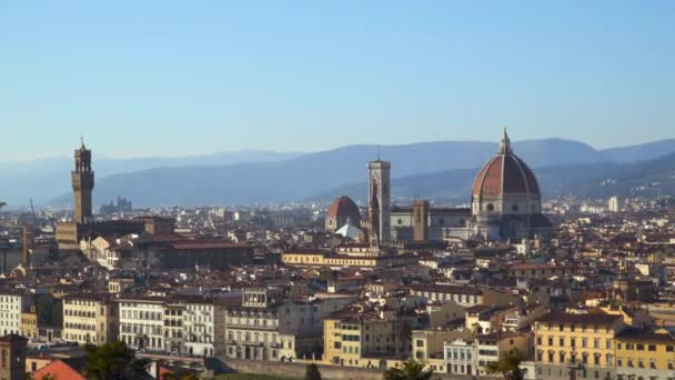 Florence Italy. View from the Michelangelo Square
