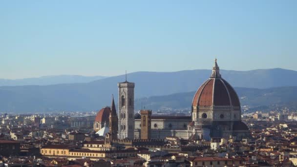 Cattedrale di Santa Maria del Fiore. Pohled na katedrálu z kopce Michelangelo.