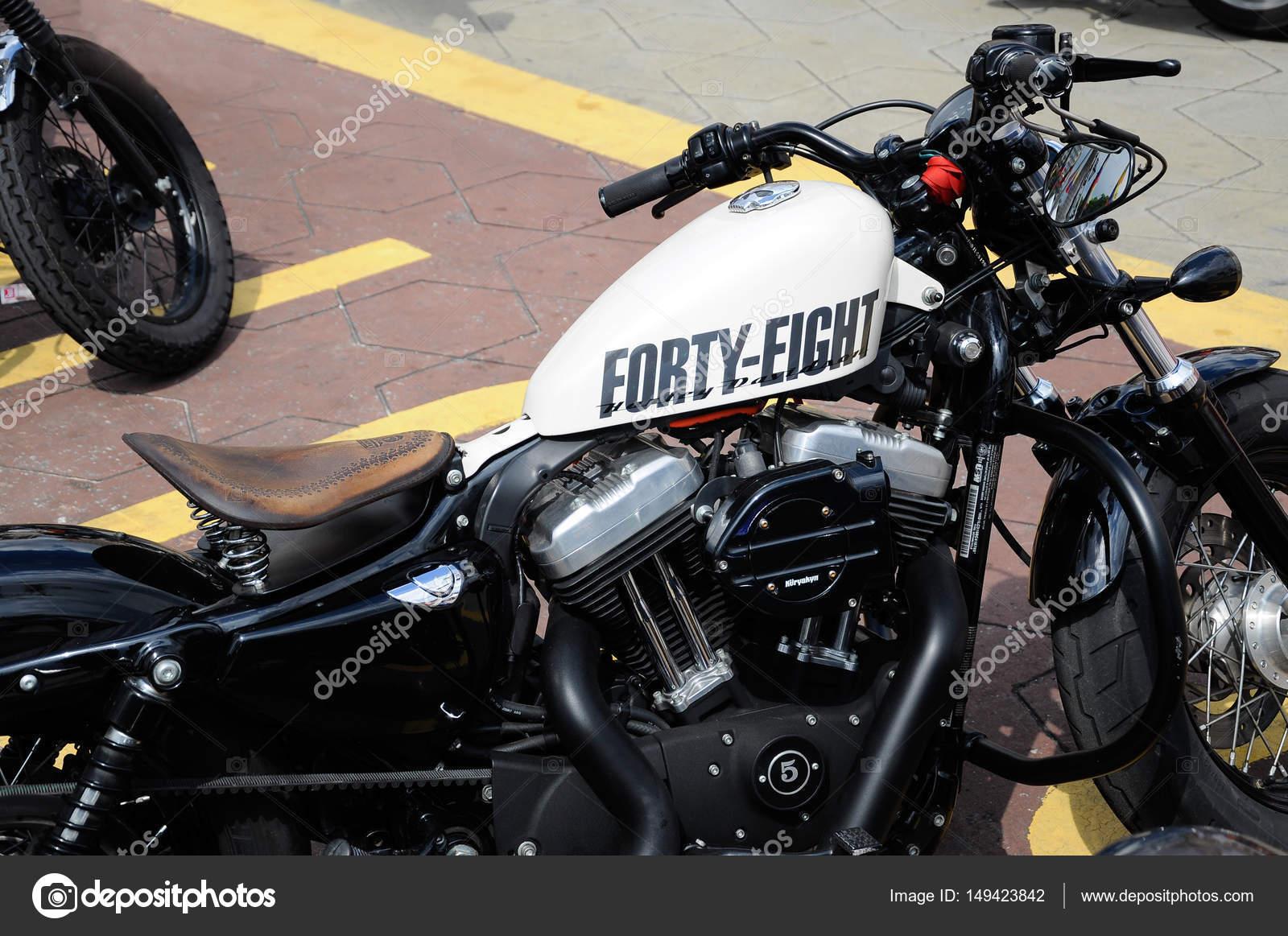 Verschiedene Modell von Harley Davidson easy Rider Motorrad parken ...
