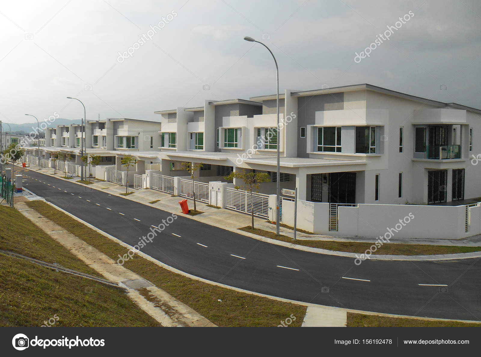 Diseño Moderno Doble Alto Costo Terraza Pisos Seremban