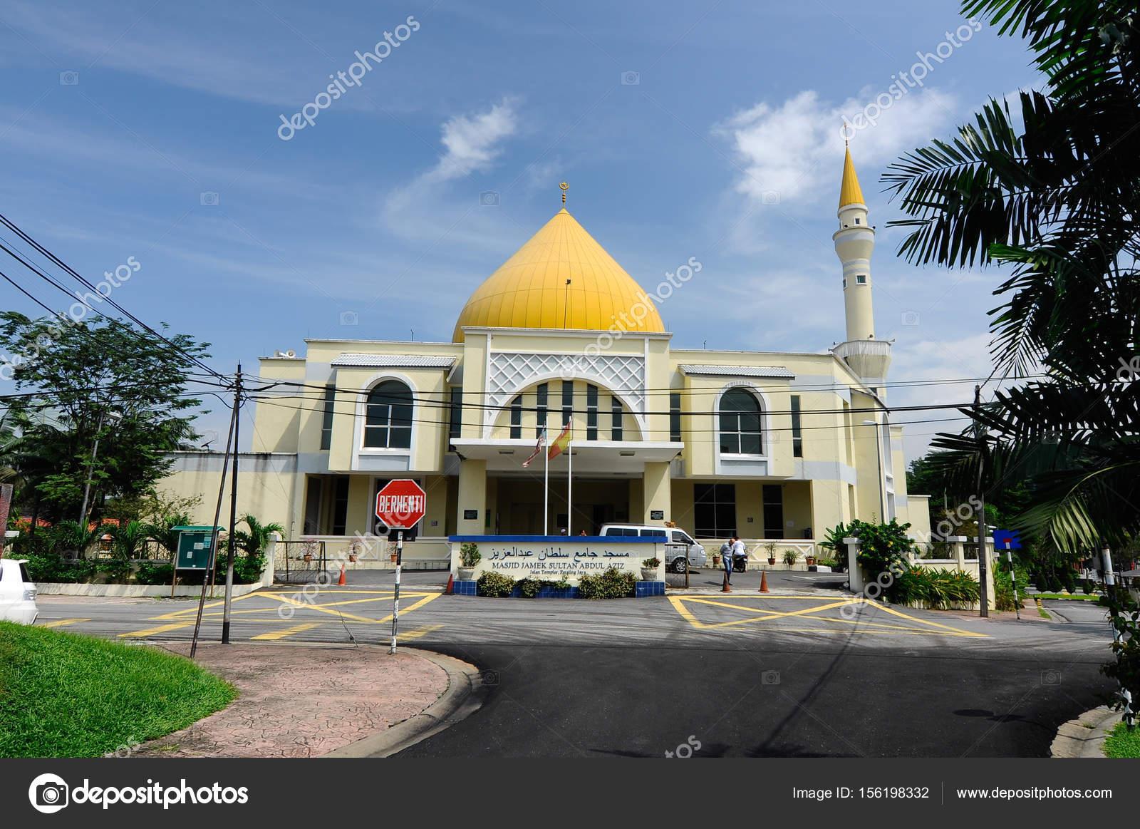 Exterior Masjid Jamek Sultan Abdul Aziz Petaling Jaya Malaysia Modern Stock Editorial Photo C Aisyaqilumar 156198332