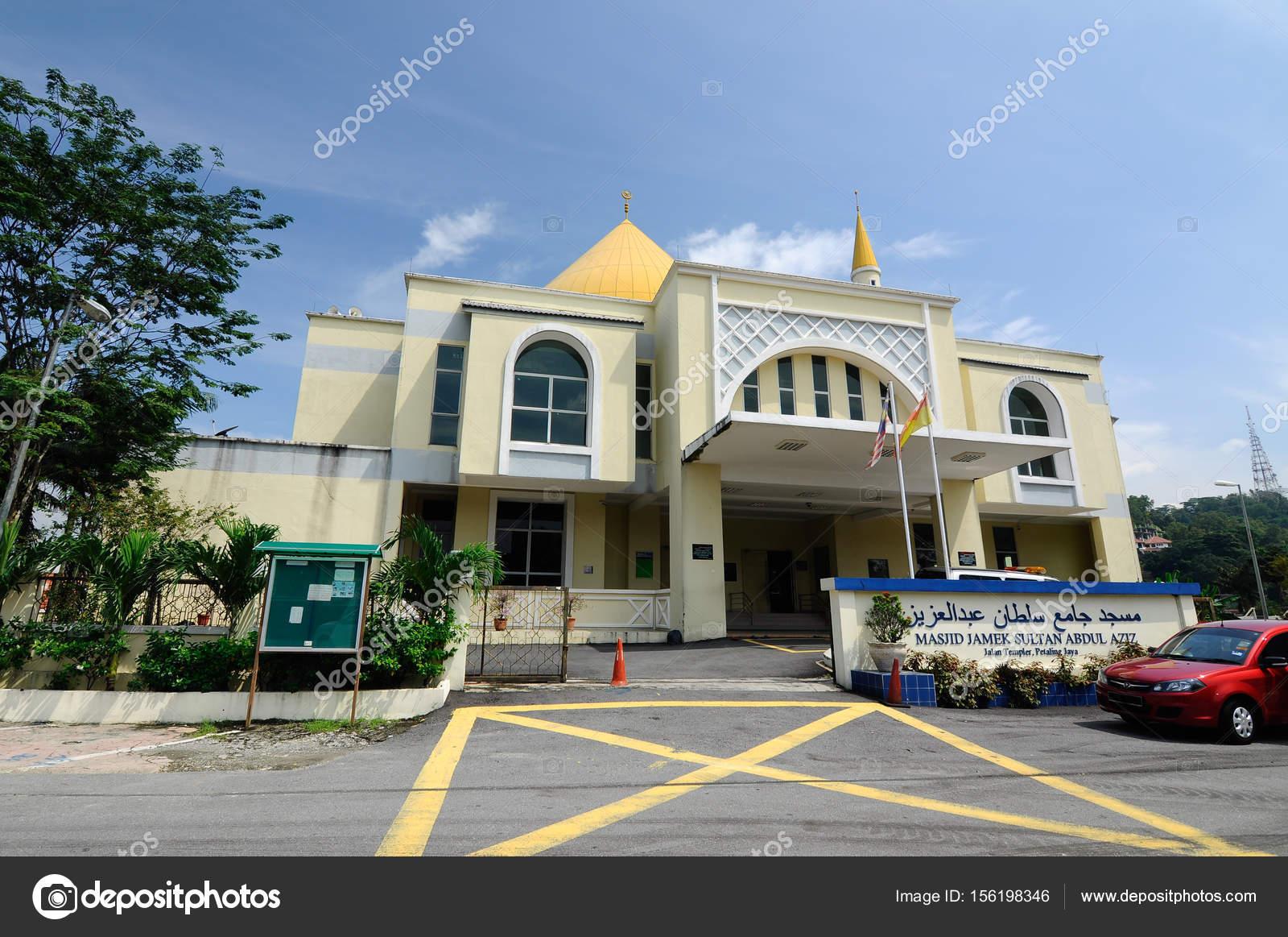 Exterior Masjid Jamek Sultan Abdul Aziz Petaling Jaya Malaysia Modern Stock Editorial Photo C Aisyaqilumar 156198346