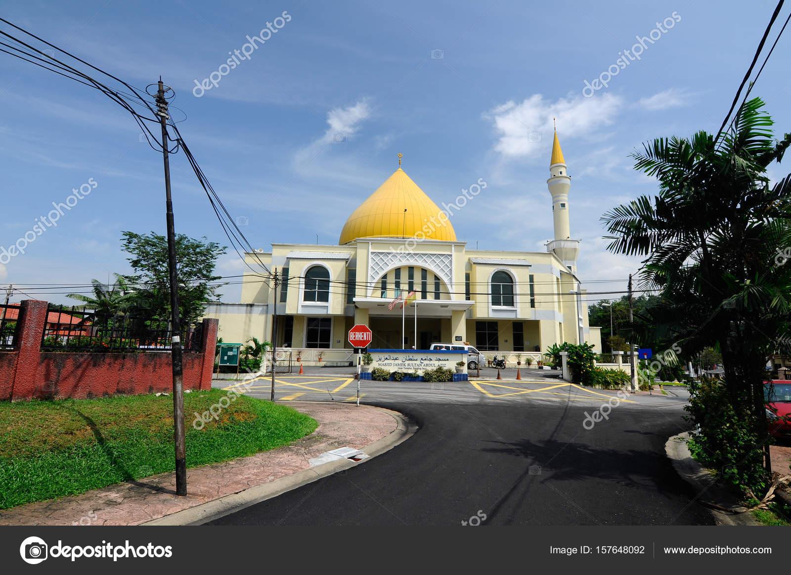 Exterior Of Masjid Jamek Sultan Abdul Aziz Stock Editorial Photo C Aisyaqilumar 157648092