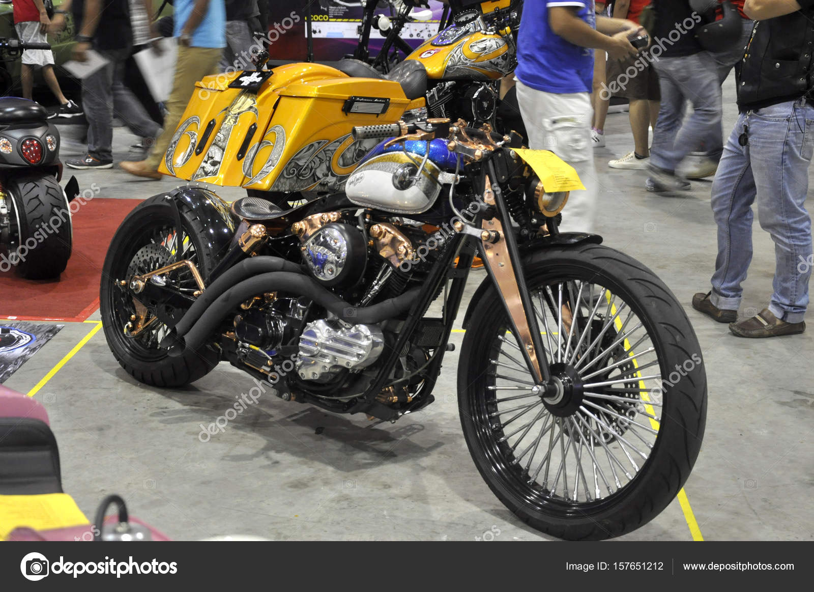 rassemblement de custom harley davidson moto photo ditoriale aisyaqilumar 157651212. Black Bedroom Furniture Sets. Home Design Ideas