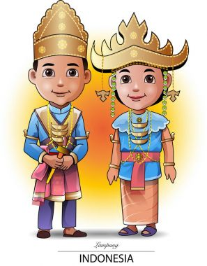 Lampung traditional clothing