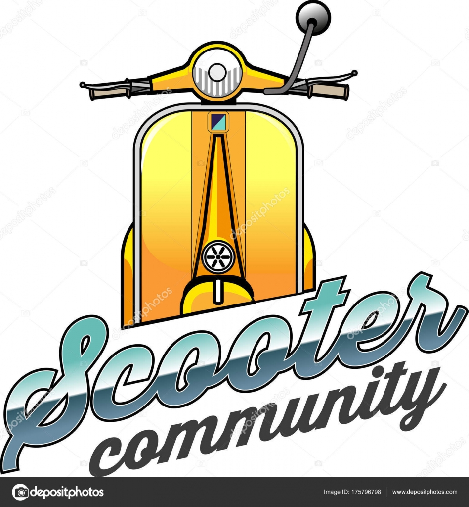vector illustration scooter vespa community symbol stock vector c msjeje 175796798 https depositphotos com 175796798 stock illustration vector illustration scooter vespa community html