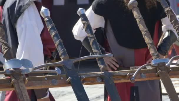 Rytíři v blízkosti meče