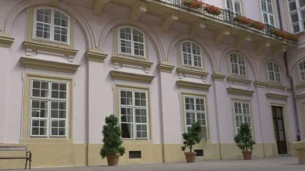 Baroque Interior Yard Bulding