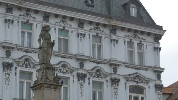 Socha rytíře v Bratislavě