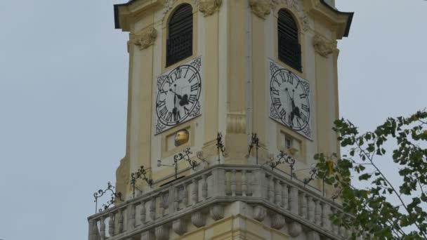 Věž radnice Bratislava staré hodiny