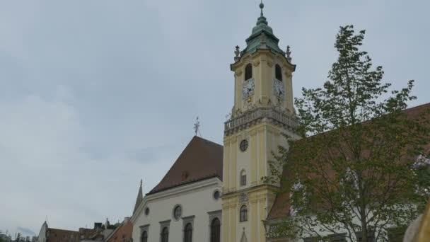 Věž Staroměstské radnice v Bratislavě