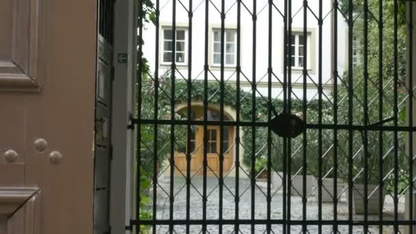Old Latticed Gate
