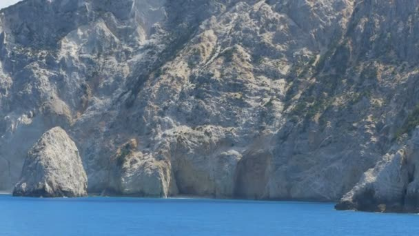Azure Ionian Sea and Cliffs