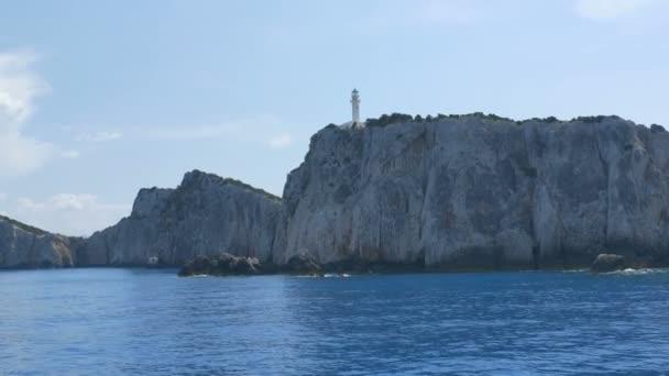 Leuchtturm auf Griechenland Ionische Inseln