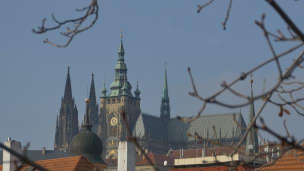 Světec Víta zobrazení v staré město Praha, hlavní město České republiky