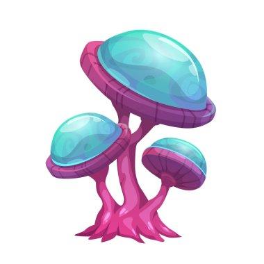 Fantasy cartoon mushroom.