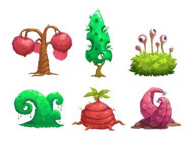 Fantasy tree set.
