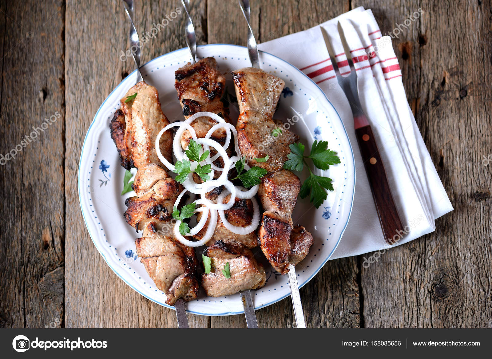 How to pickle meat for kebabs Meat for kebabs: marinade, recipe, photo 10