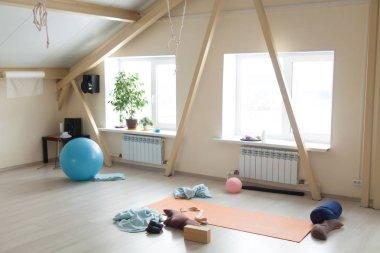 Yoga class interior
