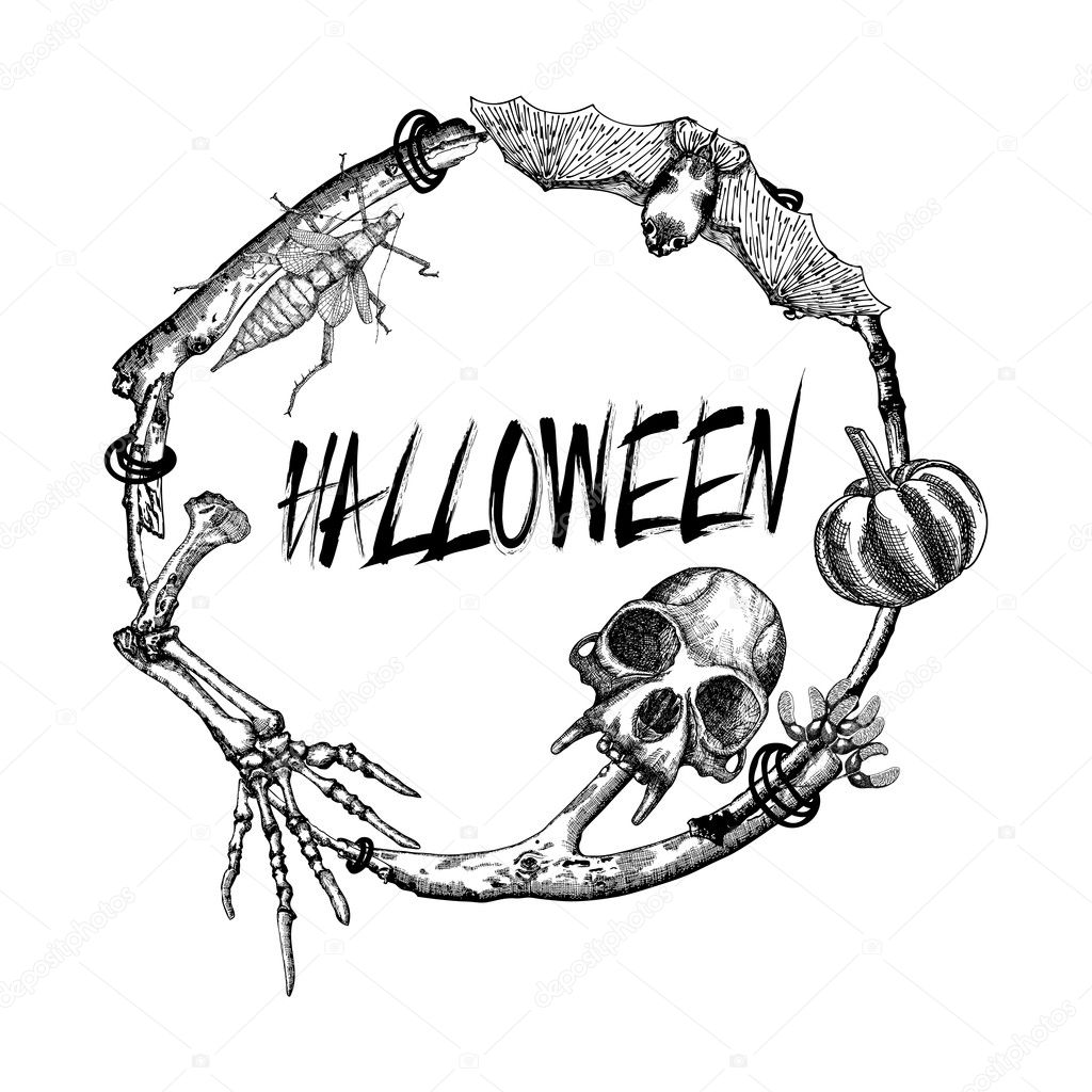 Happy Halloween sign and poster — Stock Photo © goldenshrimp #125553084