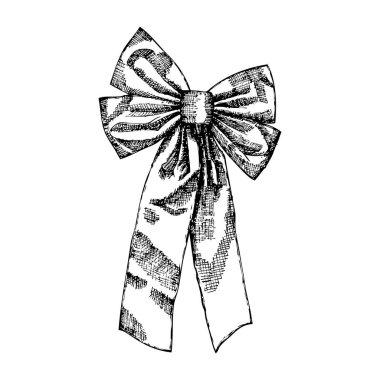 Christmas decoration bow