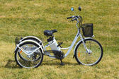 Fotografie Elektro Trike im park