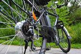 Fotografie Elektro-Fahrrad im park