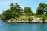 Sziget-ház ezer sziget régióban