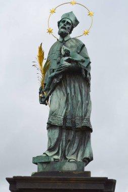 St. John of Nepomuk's Statue on Charles Bridge