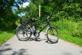 Fotografie Elektro-Fahrrad im kanadischen park
