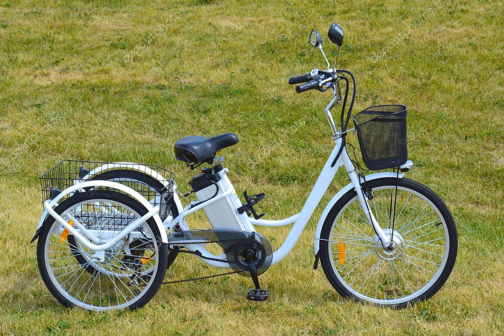 Electric trike in the park