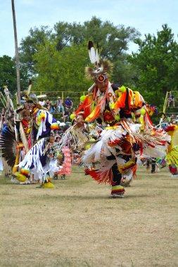 Fancy Feather Dancers Pow wow